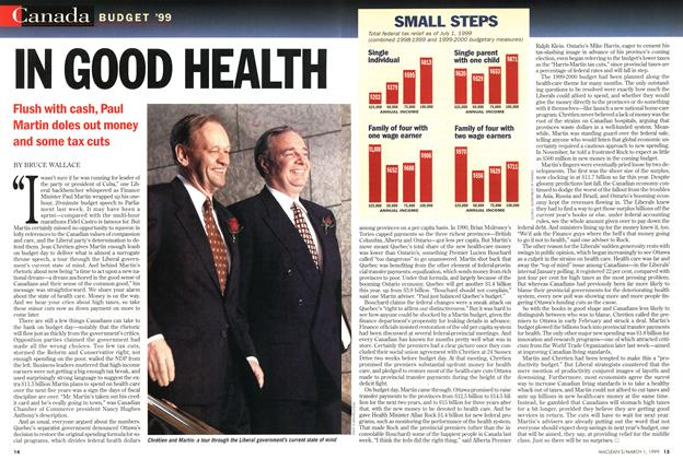 Article Preview: IN GOOD HEALTH, March 1999 | Maclean's