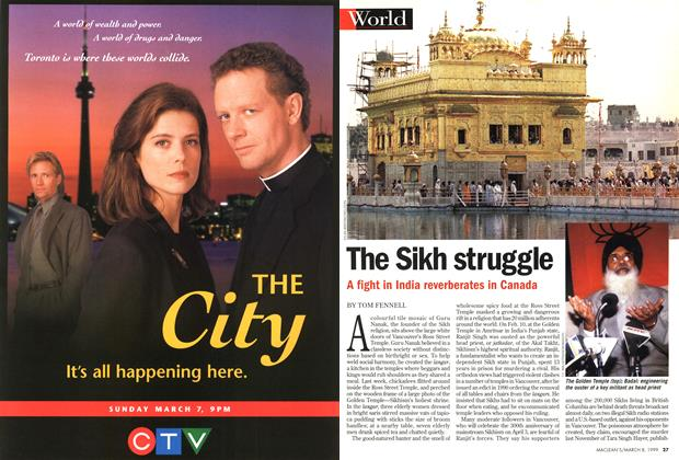 Article Preview: The Sikh struggle, March 1999 | Maclean's