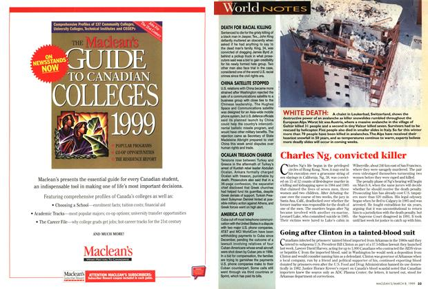 Article Preview: World NOTES, March 1999 | Maclean's