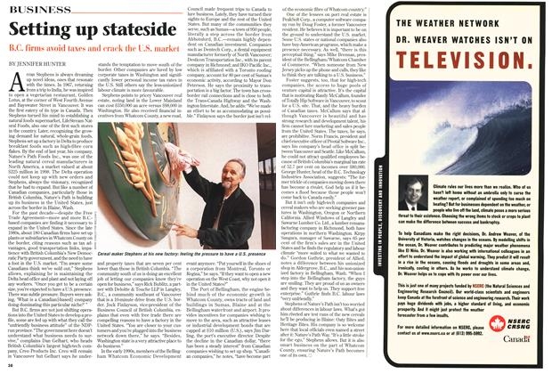 Article Preview: Setting up stateside, March 1999 | Maclean's