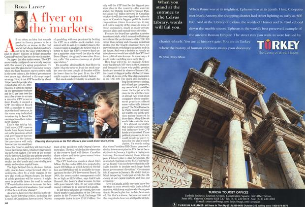Article Preview: A flyer on the markets, March 1999 | Maclean's