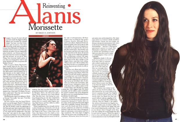 Article Preview: Alanis Morissette, March 1999 | Maclean's