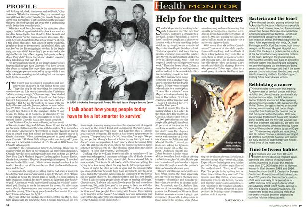 Article Preview: Help for the quitters, March 1999 | Maclean's