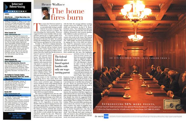 Article Preview: The home fires burn, March 1999 | Maclean's
