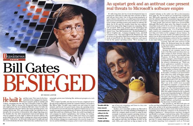 Article Preview: Bill Gates BESIEGED, March 1999 | Maclean's