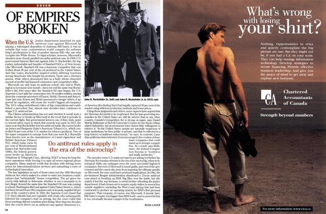 Article Preview: OF EMPIRES BROKEN, March 1999 | Maclean's
