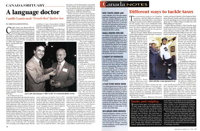 Article Preview: A language doctor, March 1999 | Maclean's