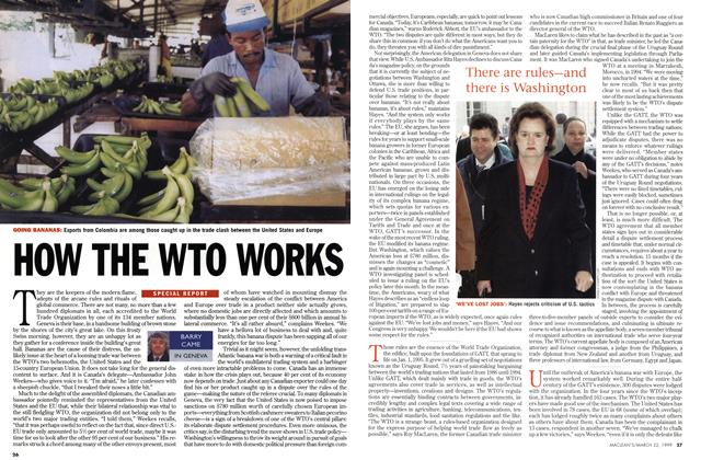Article Preview: HOW THE WTO WORKS, March 1999 | Maclean's