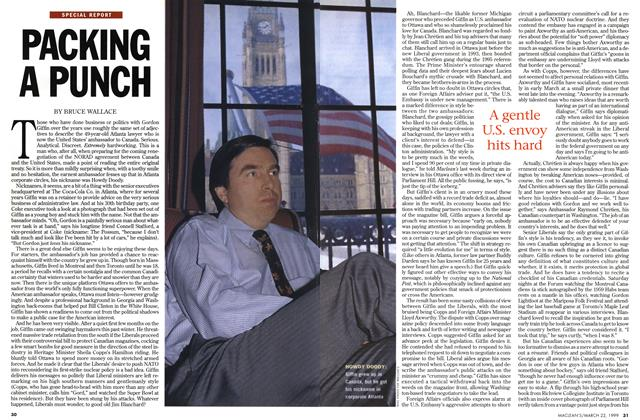 Article Preview: PACKING A PUNCH, March 1999 | Maclean's