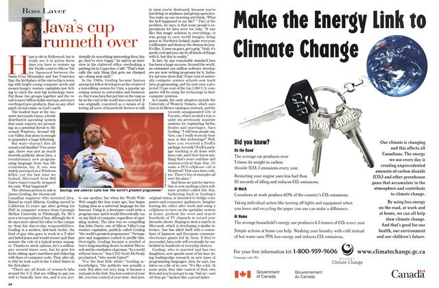 Article Preview: Java's cup rurmeth over, March 1999 | Maclean's