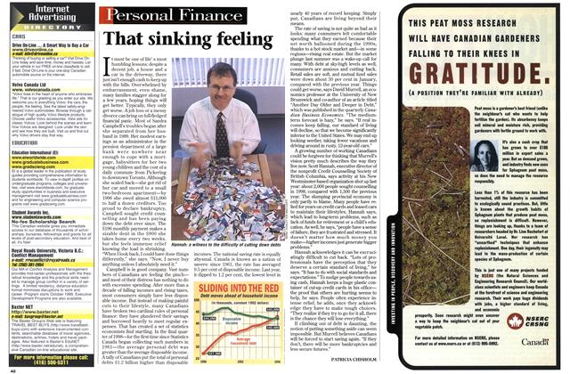 Article Preview: That sinking feeling, March 1999 | Maclean's