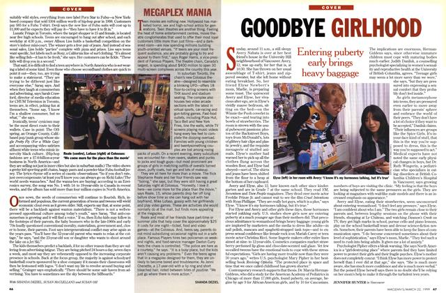 Article Preview: GOODBYE GIRLHOOD, March 1999 | Maclean's