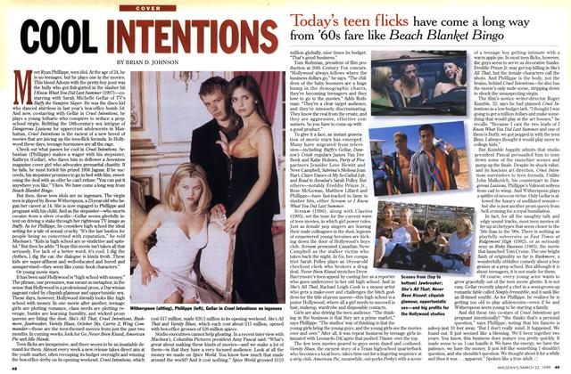 Article Preview: COOL INTENTIONS, March 1999 | Maclean's