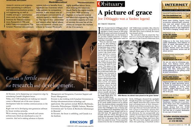 Article Preview: A picture of grace, March 1999 | Maclean's