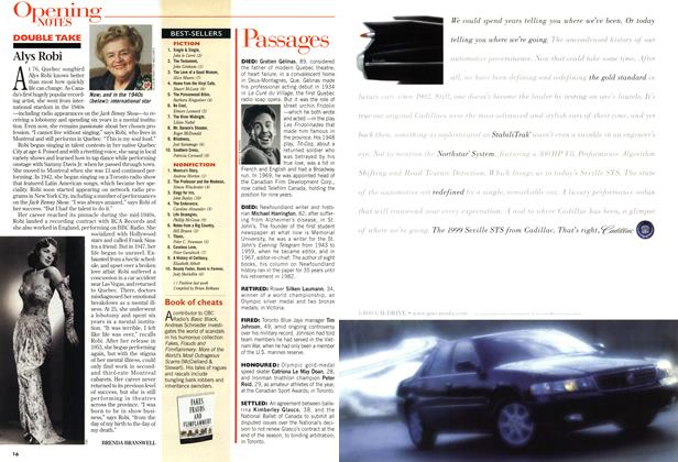 Article Preview: BEST-SELLERS, March 1999 | Maclean's