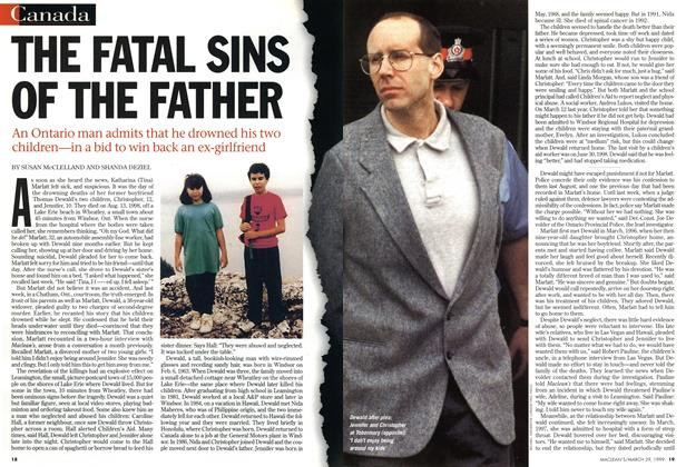 Article Preview: THE FATAL SINS OF THE FATHER, March 1999 | Maclean's