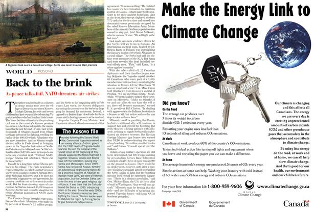 Article Preview: Back to the brink, March 1999 | Maclean's