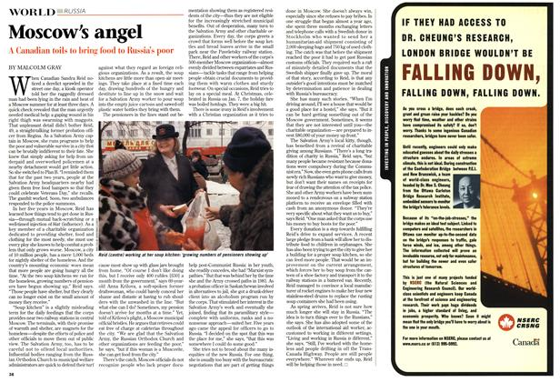 Article Preview: Moscow's angel, March 1999 | Maclean's