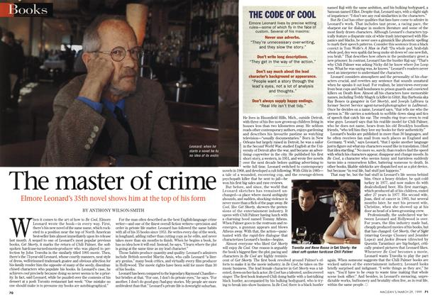 Article Preview: The master of crime, March 1999 | Maclean's