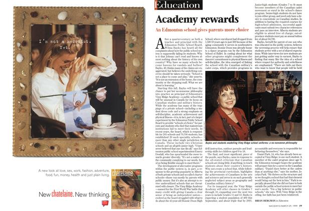 Article Preview: Academy rewards, March 1999 | Maclean's