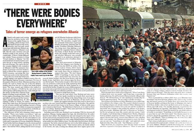 Article Preview: 'THERE WERE BODIES EVERYWHERE', April 1999 | Maclean's