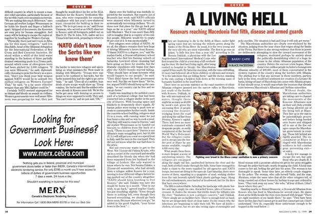 Article Preview: A LIVING HELL, April 1999 | Maclean's