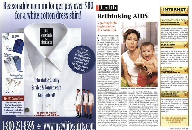 Article Preview: Rethinking AIDS, April 1999 | Maclean's