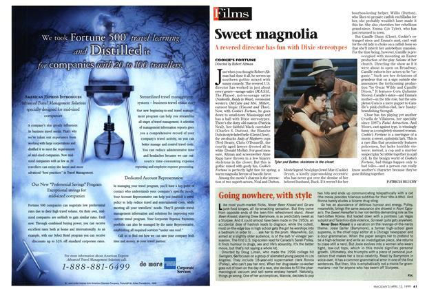 Article Preview: Sweet magnolia, April 1999 | Maclean's