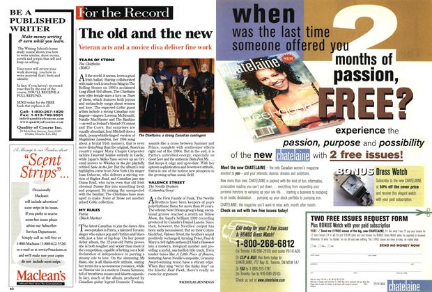 Article Preview: The old and the new, April 1999 | Maclean's