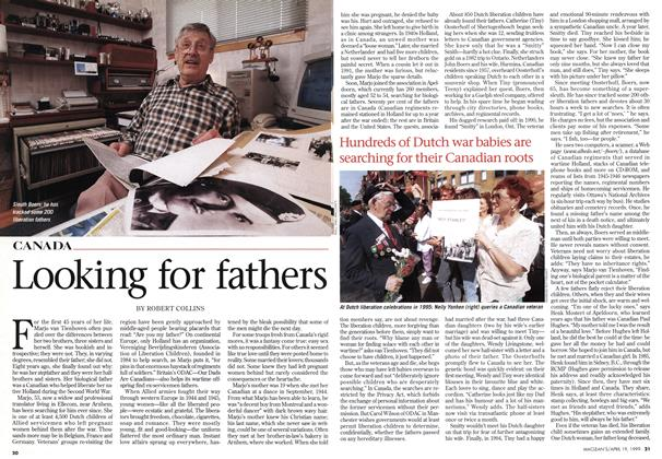 Article Preview: Looking for fathers, April 1999 | Maclean's