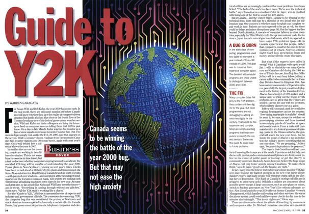 Article Preview: Guide to Y2K, April 1999 | Maclean's
