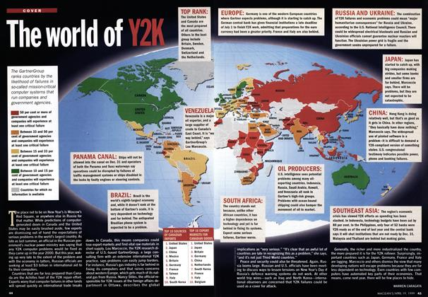 Article Preview: The world of Y2K, April 1999 | Maclean's
