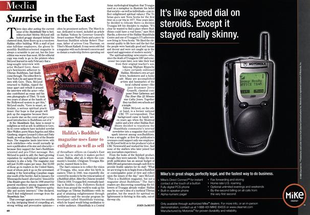 Article Preview: Sunrise in the East, April 1999 | Maclean's