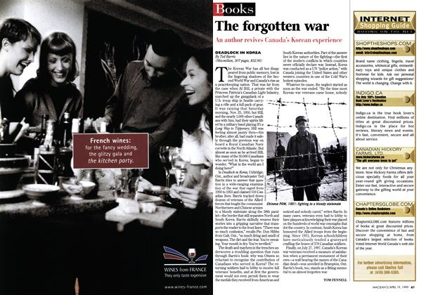 Article Preview: The forgotten war, April 1999 | Maclean's