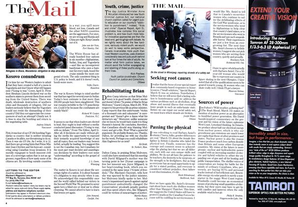 Article Preview: The Mail, April 1999 | Maclean's