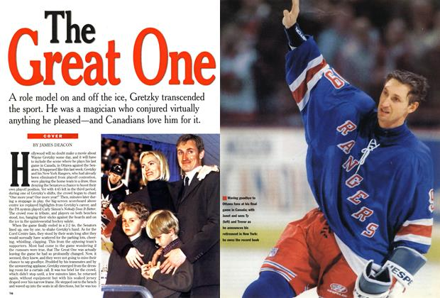 Article Preview: The Great One, April 1999 | Maclean's