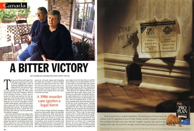Article Preview: A BITTER VICTORY, April 1999 | Maclean's