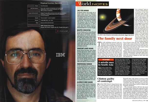 Article Preview: World NOTES, April 1999 | Maclean's