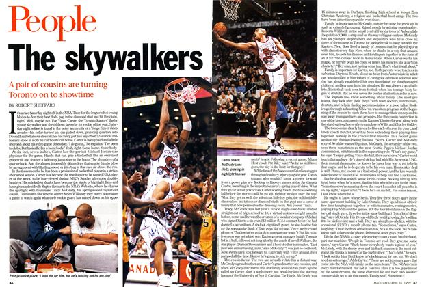 Article Preview: The skywalkers, April 1999 | Maclean's
