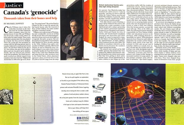 Article Preview: Canada's 'genocide', April 1999 | Maclean's