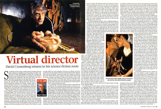 Article Preview: Virtual director, April 1999 | Maclean's