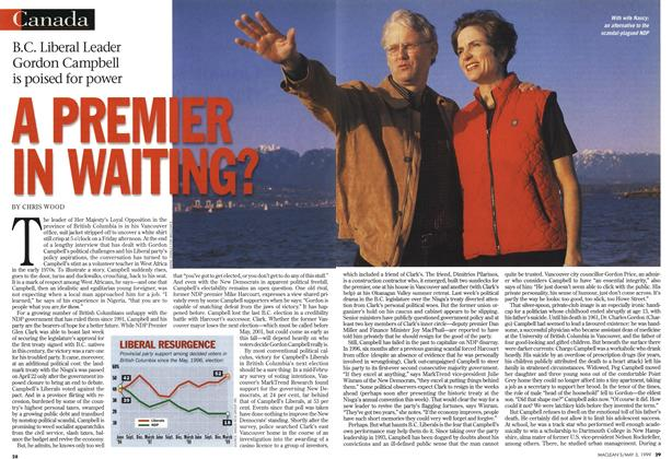 Article Preview: A PREMIER IN WAITING?, May 1999 | Maclean's