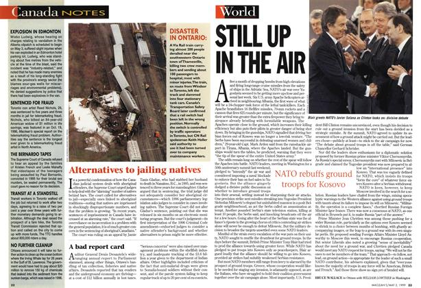 Article Preview: STILL UP IN THE AIR, May 1999 | Maclean's