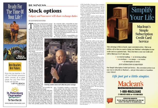 Article Preview: Stock options, May 1999 | Maclean's
