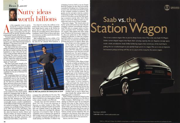 Article Preview: Nutty ideas worth billions, May 1999 | Maclean's