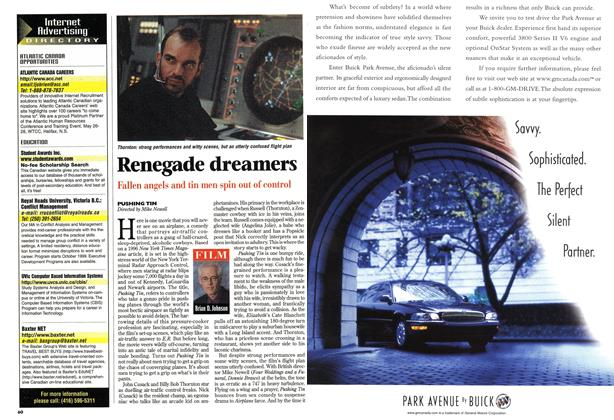 Article Preview: Renegade dreamers, May 1999 | Maclean's