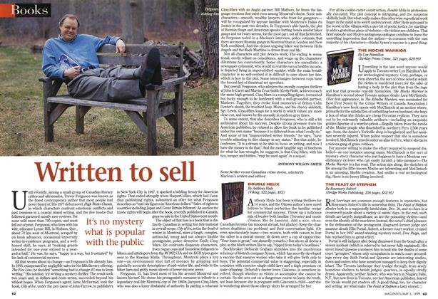 Article Preview: Written to sell, May 1999 | Maclean's