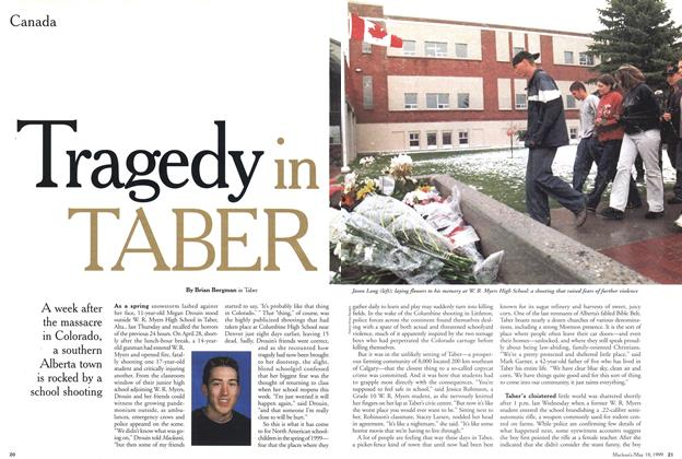Article Preview: Tragedy in TABER, May 1999 | Maclean's