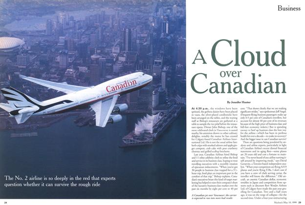 Article Preview: A Cloud over Canadian, May 1999 | Maclean's