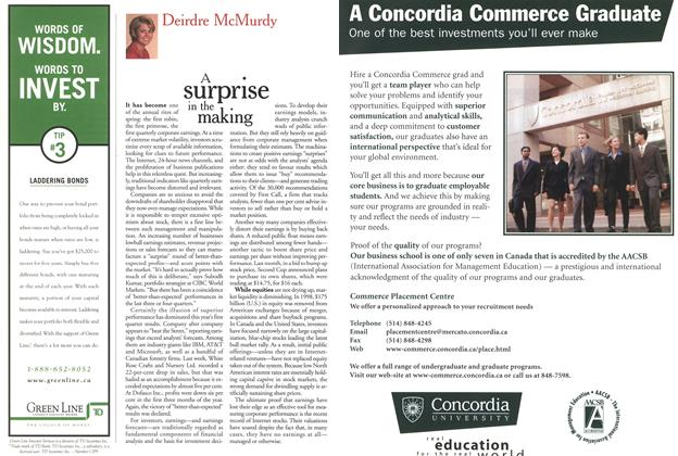 Article Preview: A surprise in the making, May 1999 | Maclean's